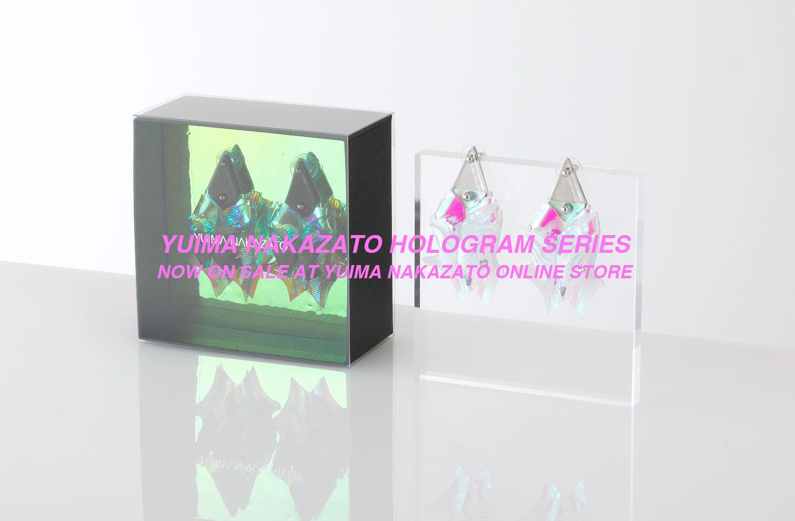 hologram series now on sale at yuima nakazato online store news
